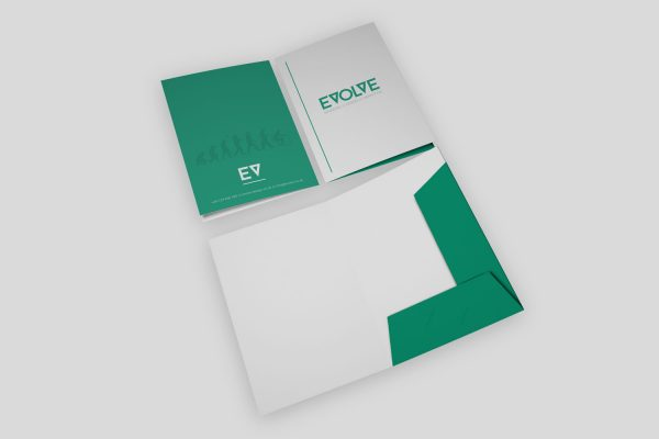 Interlocking Presentation Folders
